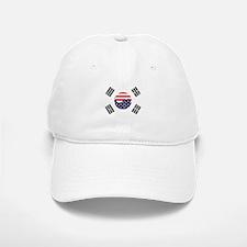 Korean-American Flag Baseball Baseball Cap