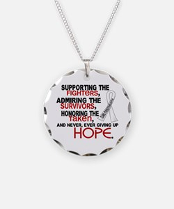©SupportAdmireHonor Mesothelioma Necklace