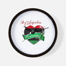Libyan Princess Wall Clock
