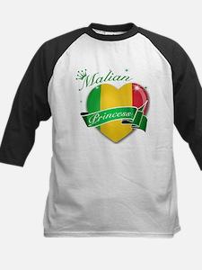 Malian Princess Kids Baseball Jersey