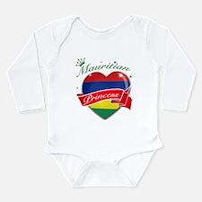 Mauritian Princess Long Sleeve Infant Bodysuit