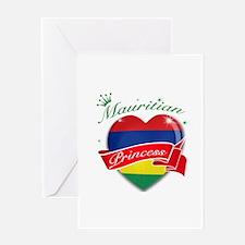 Mauritian Princess Greeting Card