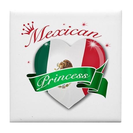 Mexican Princess Tile Coaster
