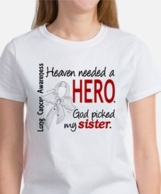 Heaven Needed a Hero Lung Cancer Women's T-Shirt