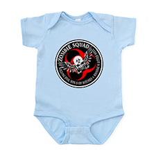 Zombie Squad 3 Ring Patch Rev Infant Bodysuit