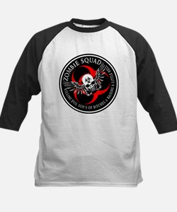 Zombie Squad 3 Ring Patch Rev Tee