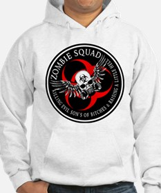 Zombie Squad 3 Ring Patch Rev Hoodie Sweatshirt