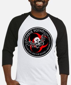 Zombie Squad 3 Ring Patch Rev Baseball Jersey
