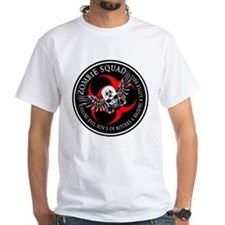 Zombie Squad 3 Ring Patch Rev Shirt