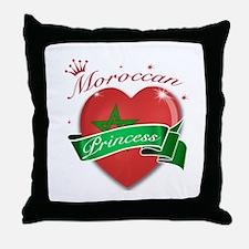 Moroccan Princess Throw Pillow