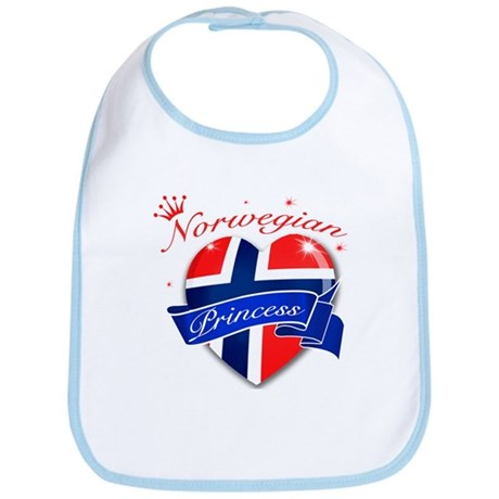 Norwegian Princess Bib