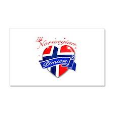 Norwegian Princess Car Magnet 20 x 12