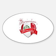 Peruvian Princess Bumper Stickers