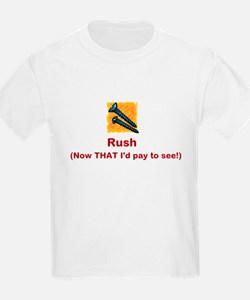 Screw Rush (red font) T-Shirt
