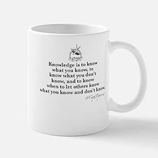 Knowledge Small Small Mug