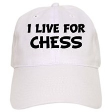 Live For CHESS Baseball Cap