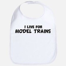 Live For MODEL TRAINS Bib