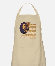 Whose Heart Is Firm Apron