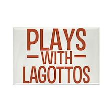 PLAYS Lagottos Rectangle Magnet