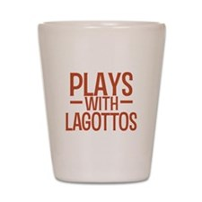 PLAYS Lagottos Shot Glass