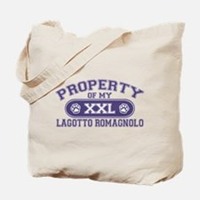 Lagotto Romagnolo PROPERTY Tote Bag