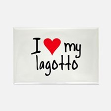 I LOVE MY Lagotto Rectangle Magnet (10 pack)