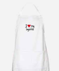 I LOVE MY Lagotto Apron