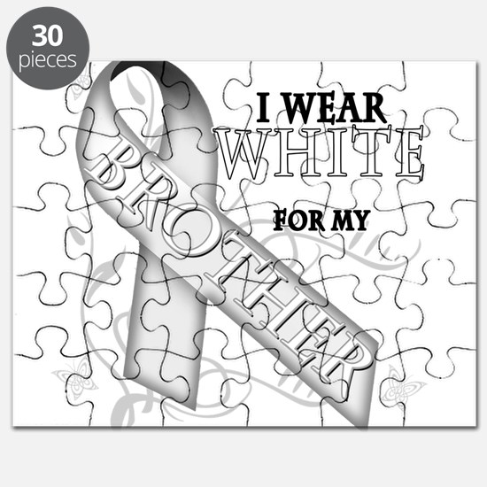 I Wear White for my Puzzle