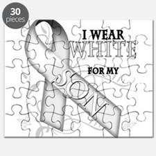 I Wear White for my Son Puzzle