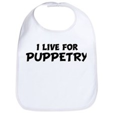 Live For PUPPETRY Bib