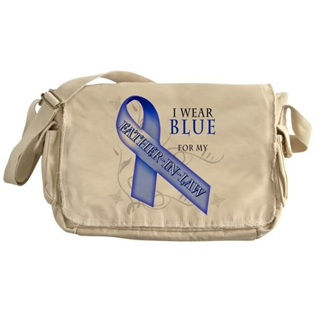 I Wear Blue for my Father-In- Messenger Bag