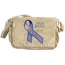 I Wear Blue for my Mom Messenger Bag