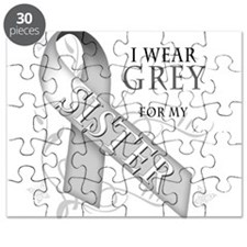 I Wear Grey for my Sister Puzzle