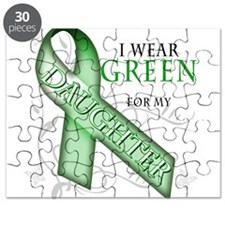 I Wear Green for my Daughter Puzzle