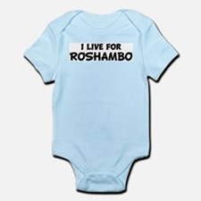 Live For ROSHAMBO Infant Creeper