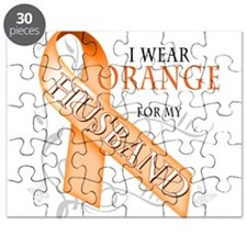 I Wear Orange for my Husband Puzzle
