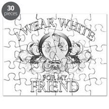 I Wear White for my Friend (f Puzzle