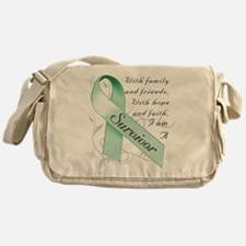 Ovarian Cancer Survivor Messenger Bag