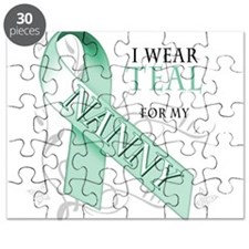I Wear Teal for my Nanny Puzzle