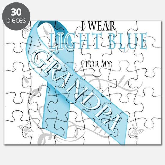 I Wear Light Blue for my Gran Puzzle