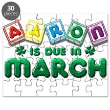 Aaron is Due in March Puzzle