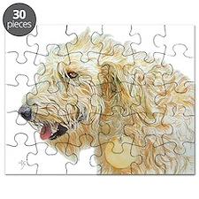 Cream Labradoodle #2 Puzzle