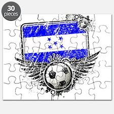 Soccer Fan Honduras Puzzle