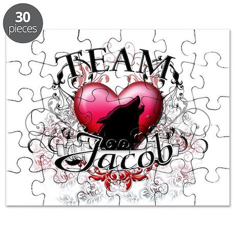 Team Jacob Tribal Puzzle