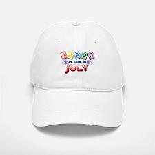 Aaron is Due in July Baseball Baseball Cap