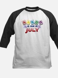 Aaron is Due in July Tee