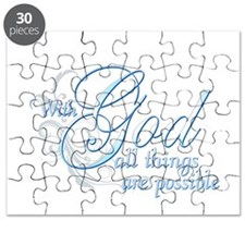 With God All Things are Possi Puzzle