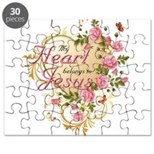 Heart belongs to Jesus Puzzle