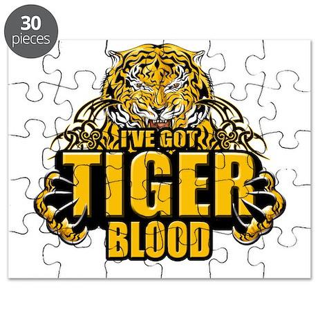 I've Got Tiger Blood Puzzle