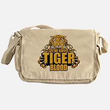 I've Got Tiger Blood Messenger Bag